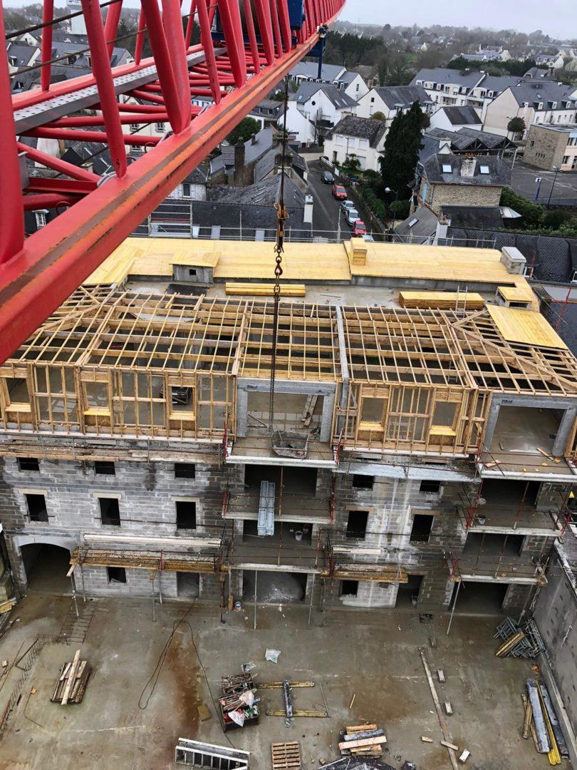 Fouesnant Les Hauts de Cornouaille Construction Logements Collectifs 4 -