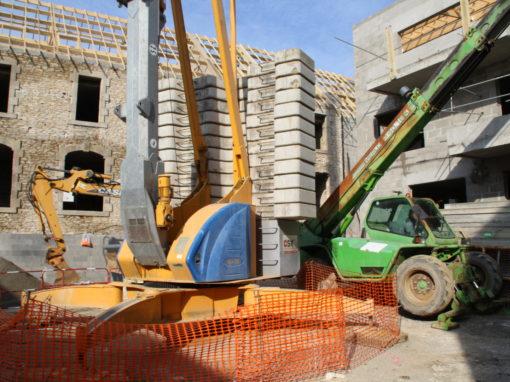 CONCARNEAU Le Lin Construction Logements Collectifs (107)