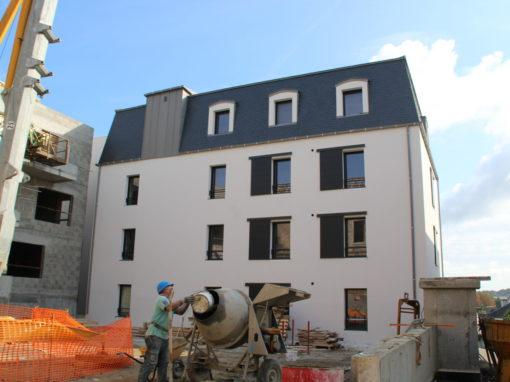CONCARNEAU Le Lin Construction Logements Collectifs (109)