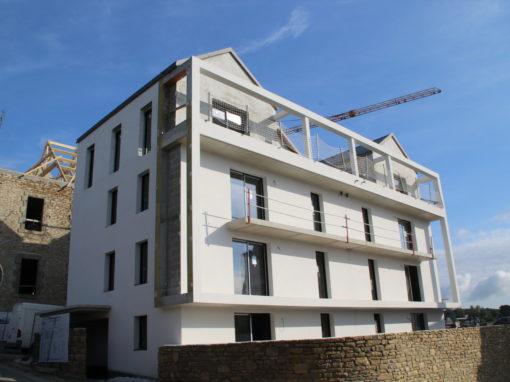 CONCARNEAU Le Lin Construction Logements Collectifs (77)