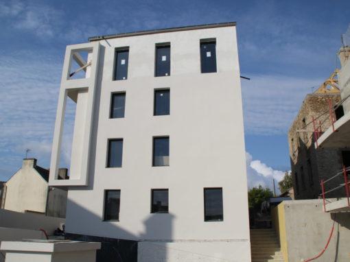 CONCARNEAU Le Lin Construction Logements Collectifs (81)