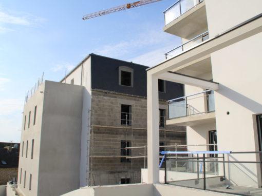 CONCARNEAU Le Lin Construction Logements Collectifs (91)