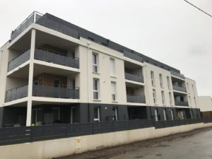 QUIMPER ALILA KERMOGUER Construction Logements Collectifs (2)