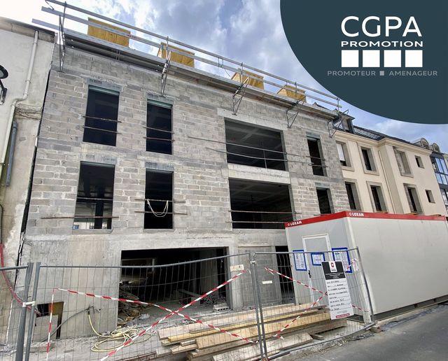 Le chantier de notre programme 𝗹'𝗔𝗱𝗿𝗲𝘀𝘀𝗲 situé rue Vis à #Q…